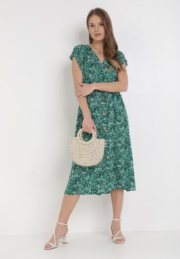 Zielona Sukienka Valoel