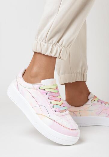 Różowe Sneakersy Eirerian