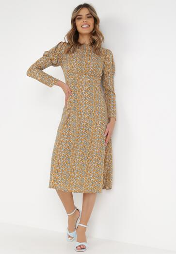Żółta Sukienka Genemere