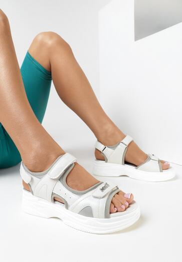 Białe Sandały Sireimeda Kod produktu: 155424 Kup za 76,99 zł z kodem: WIOSNA21