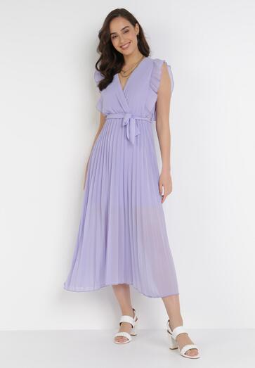 Liliowa Sukienka Tryxnessa