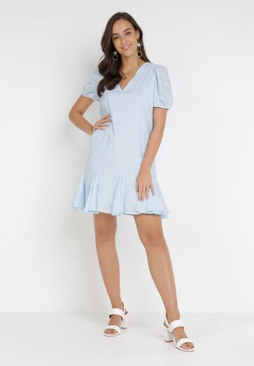 Jasnoniebieska Sukienka Nepherope