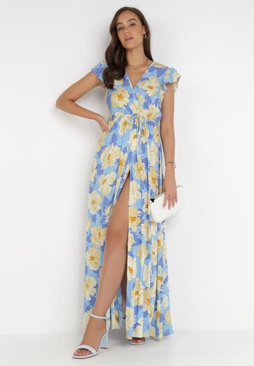 Niebieska Sukienka Acsesi
