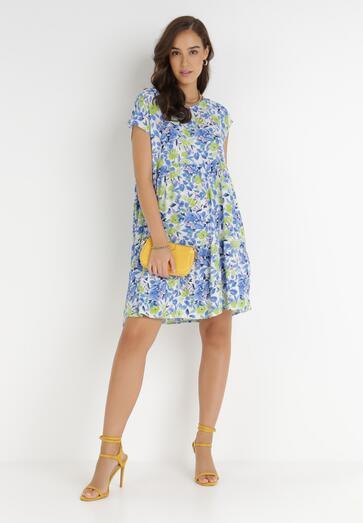 Niebieska Sukienka Eviell