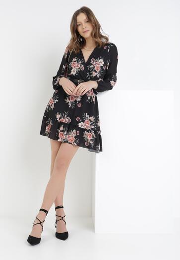 Czarna Sukienka Phereisa
