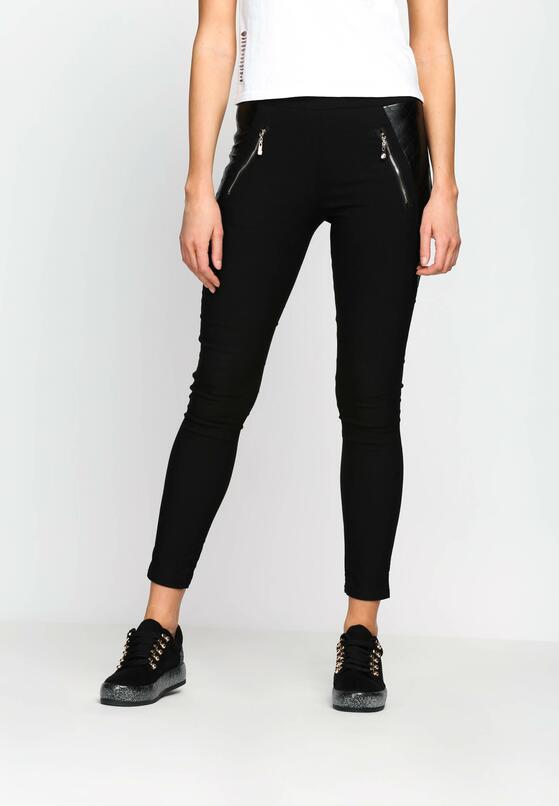 Czarne Spodnie Other Side