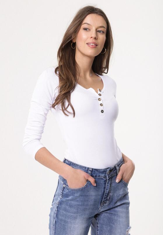 Biała Bluzka Femininity