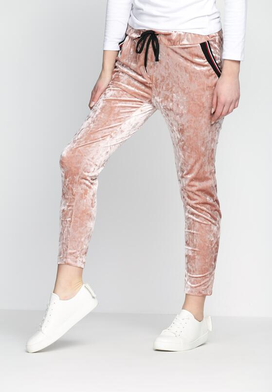 Różowe Spodnie Dresowe Glowing