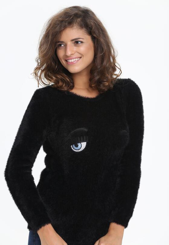 Czarny Sweter Her Look