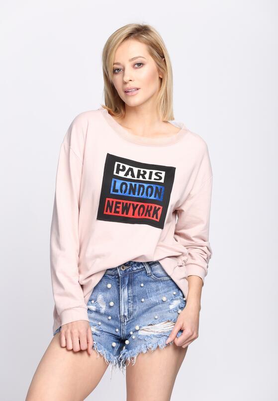 Różowa Bluza Best City