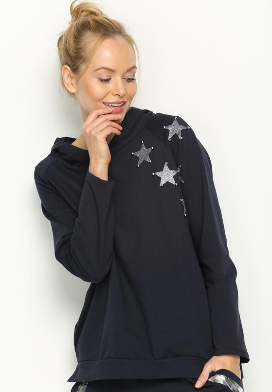 Granatowa Bluza Few Stars