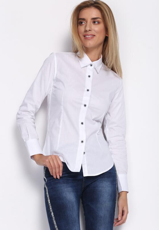 Biała Koszula Caro Rey