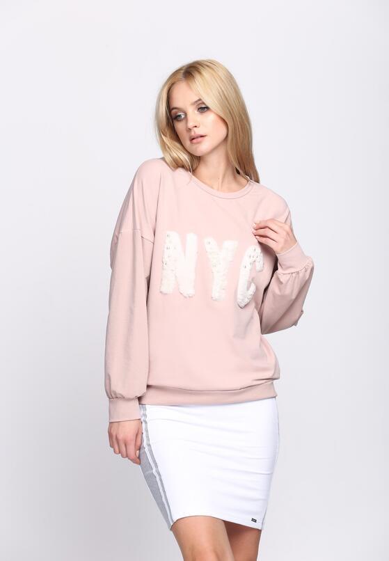 Różowa  Bluza NoYoCo