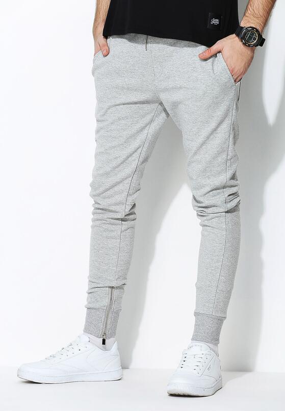 Szare Spodnie Dresowe Sufficient