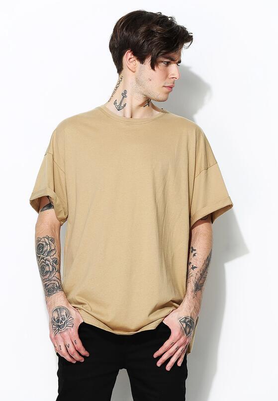 Beżowa Koszulka Stay Woke