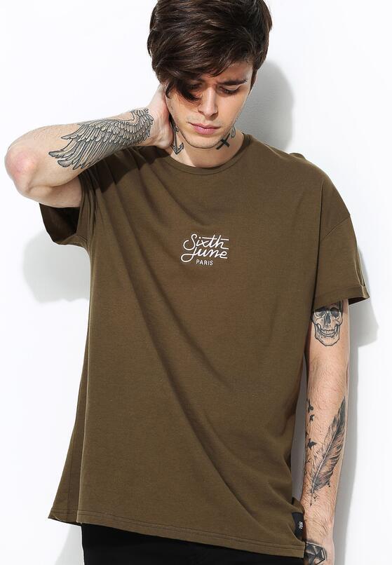 Ciemnozielona Koszulka Lackaday