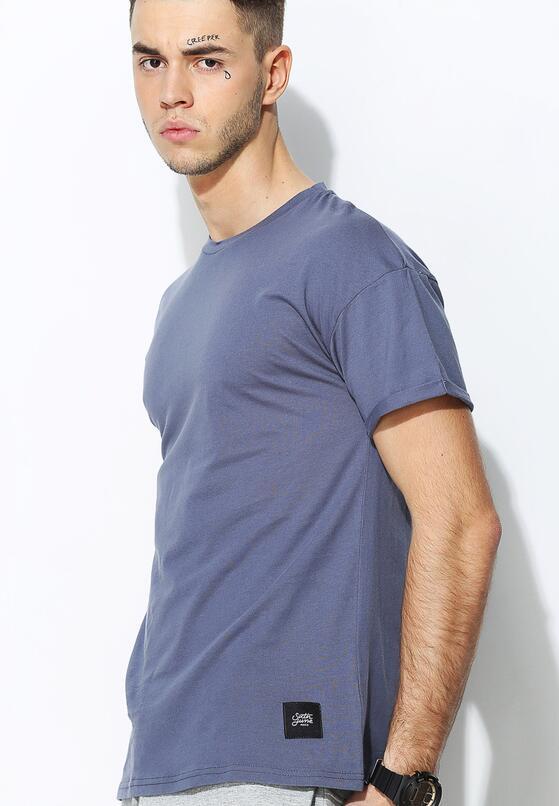 Ciemnoniebieska Koszulka Assistance