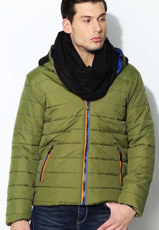 Zielona Kurtka Polar Face