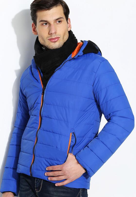 Kobaltowa  Kurtka Polar Face
