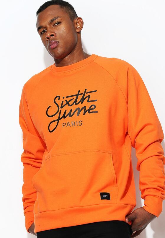 Pomarańczowa Bluza Intricate