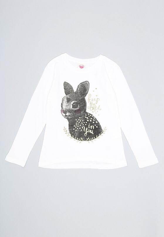 Biała Bluzka Sweet Bunny