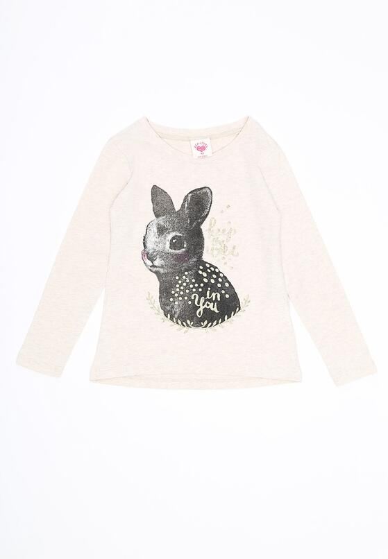 Beżowa Bluzka Sweet Bunny