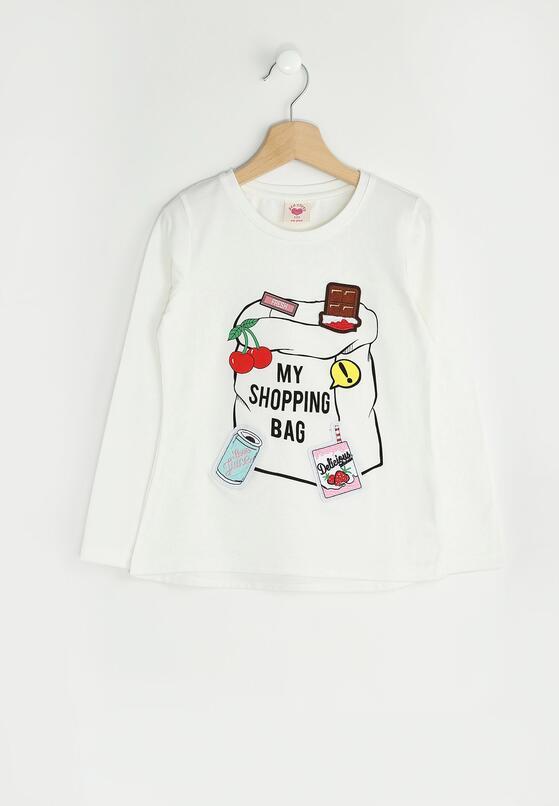 Biała Bluzka Candy Girl