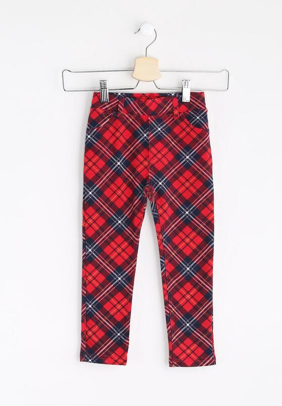 Czerwone Legginsy Strips