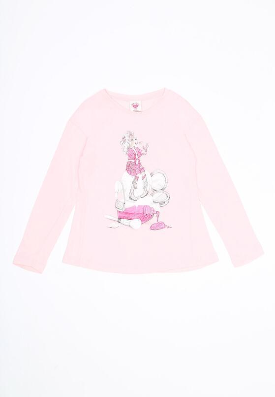 Różowa Bluzka Glow