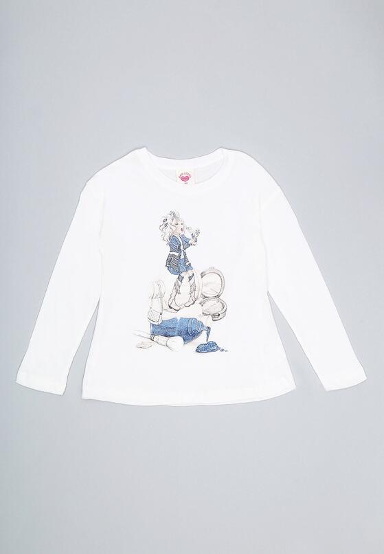 Biała Bluzka Glow