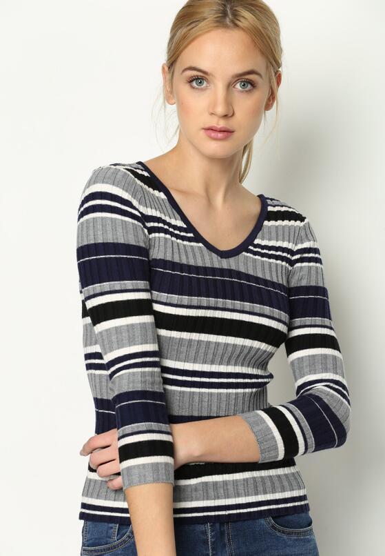 Granatowy Sweter Anywhere