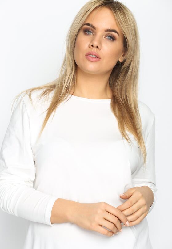 Biała Bluzka Minimalism