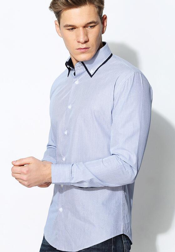 Niebieska Koszula Granate