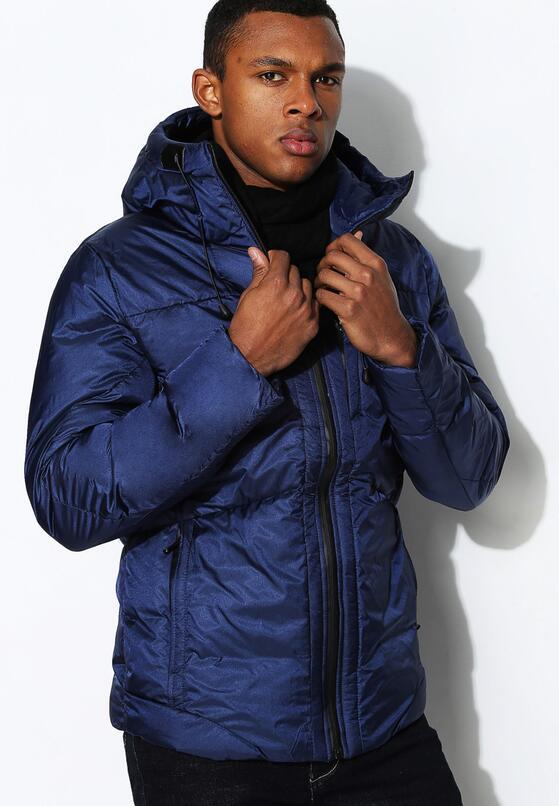 Granatowa Kurtka Perfect Jacket