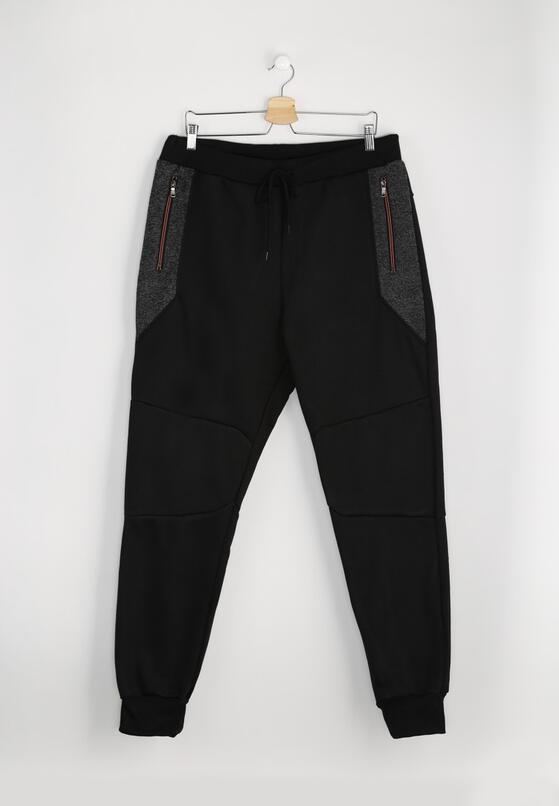 Czarne Spodnie Dresowe Activity
