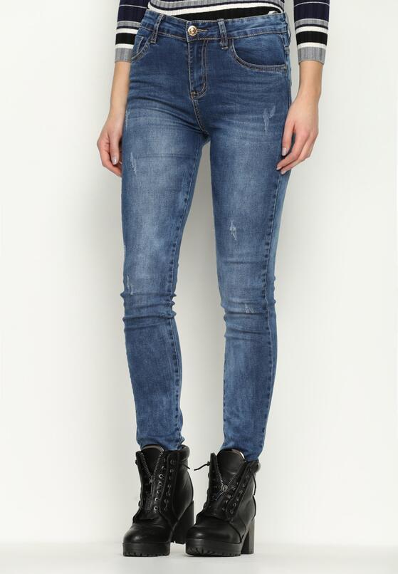 Niebieskie Jeansy Walkable