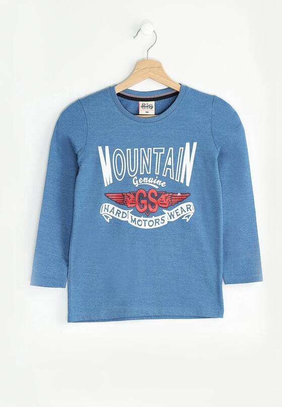 Niebieska Koszulka Genuine