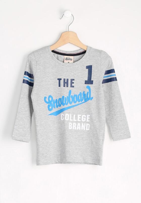 Szara Koszulka Brand