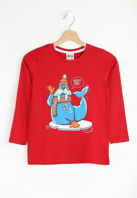 Czerwona Koszulka Cool