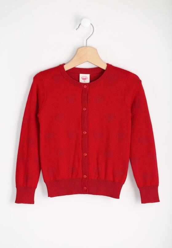 Czerwony Sweterek Lovely