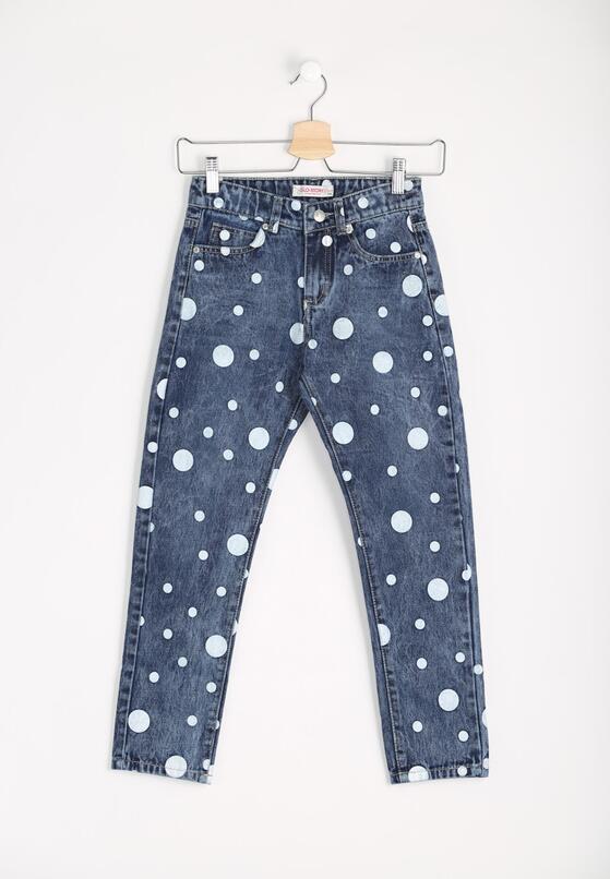 Niebieskie Jeansy Circles