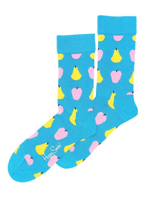 Niebieskie Skarpetki Fruit Happy Socks