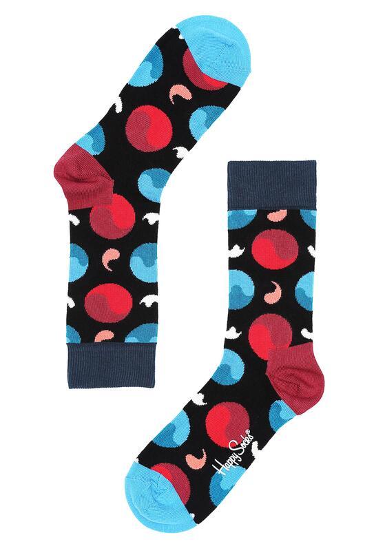 Czarne Skarpetki Yin Yang Happy Socks