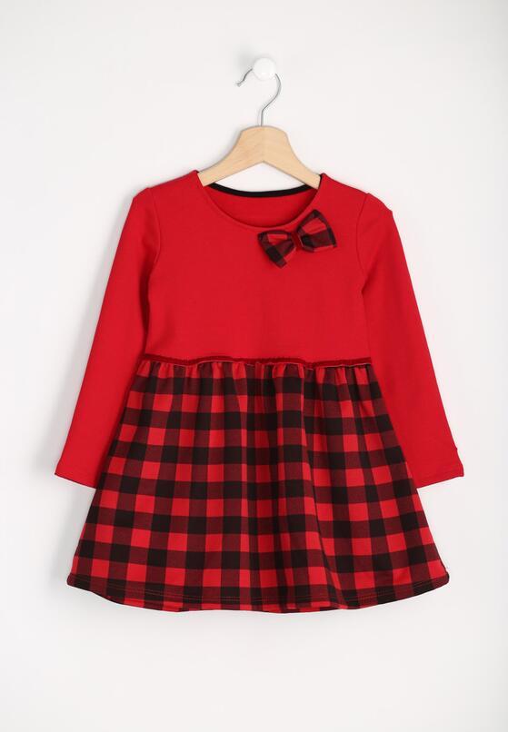 Czerwona Sukienka Red Bow