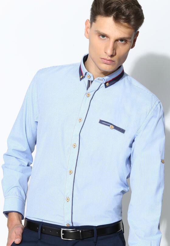 Jasnoniebieska Koszula Simple Day