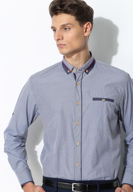 Granatowa Koszula Simple Day