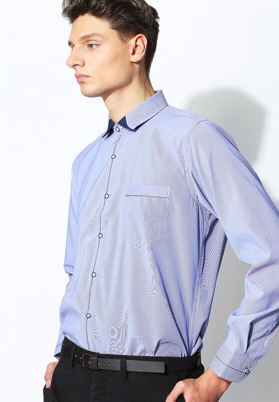 Ciemnoniebieska Koszula Unique Line