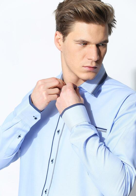 Niebieska Koszula Classic Day