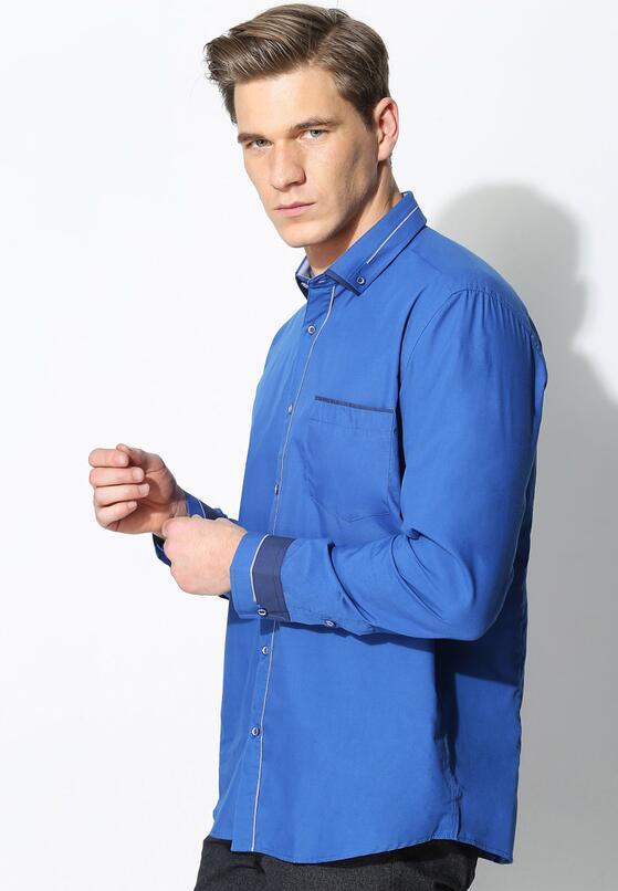 Niebieska Koszula Business Class