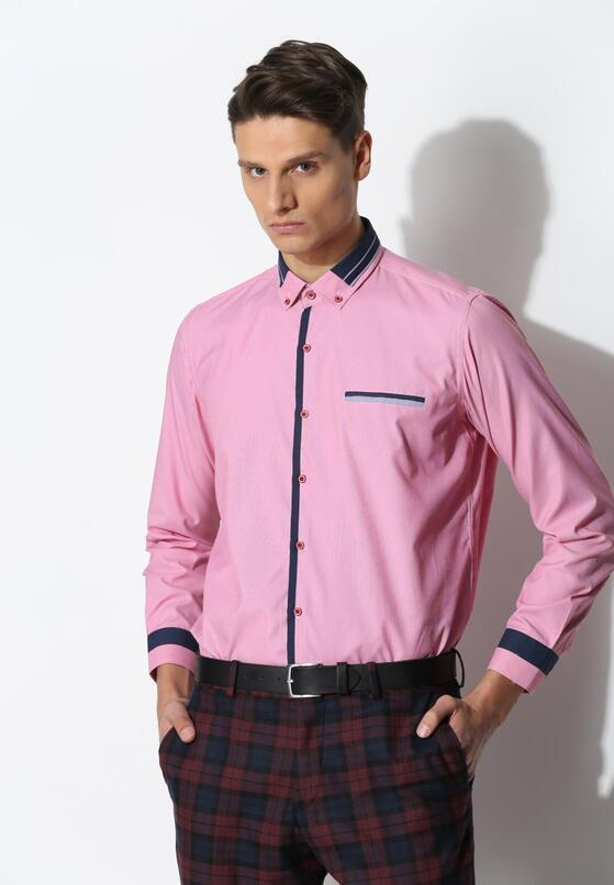 Różowa Koszula Modern Class